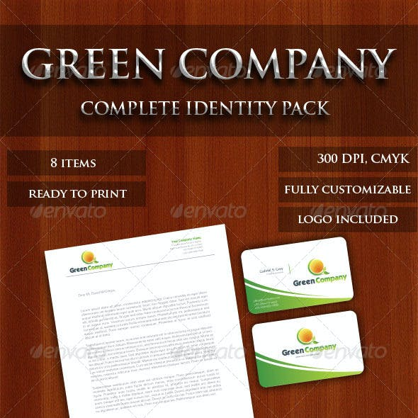 Green Company identity Pack