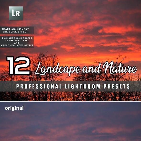 12 Landscape and Nature Lightroom Presets