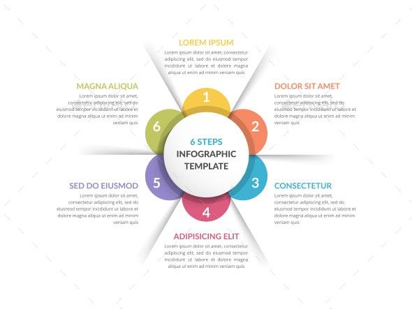 Circle Infographics - Six Elements - Infographics