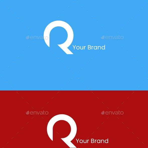 Modern letter R, Premium