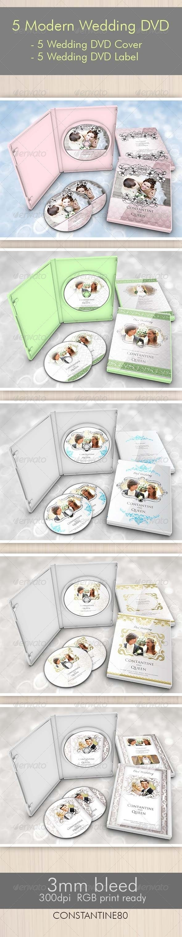 5 Items Modern Wedding DVD