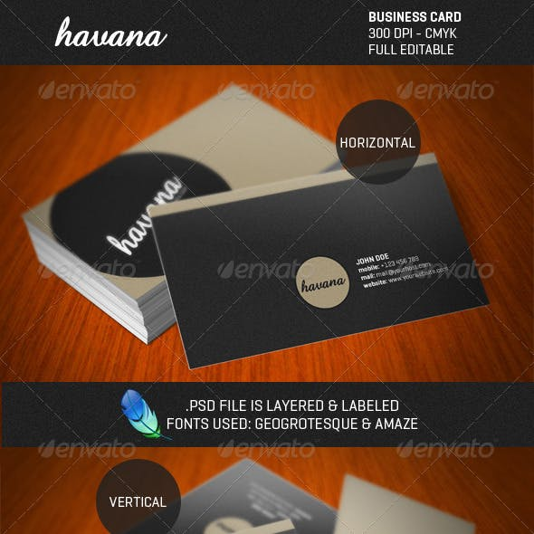 Havana Graphics, Designs & Templates from GraphicRiver