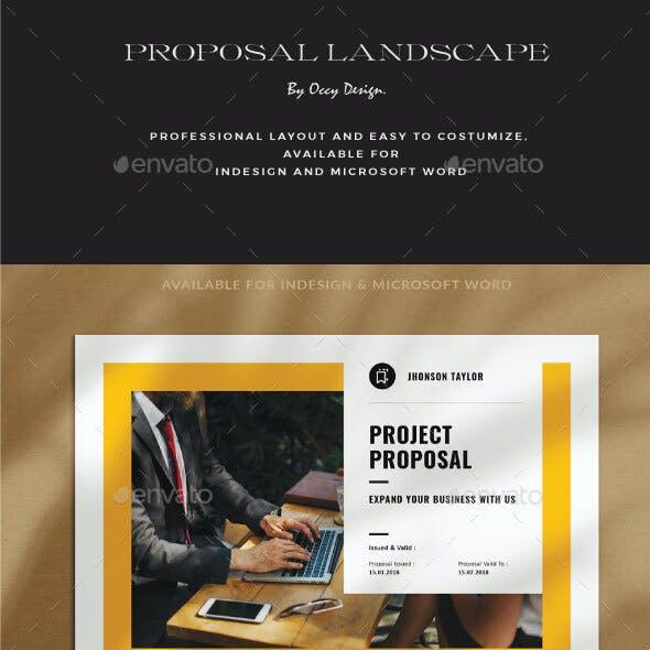 Proposal Landscape