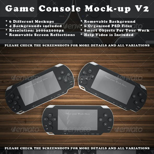 Game Console Mock-Up
