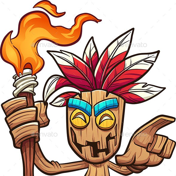Tiki Character