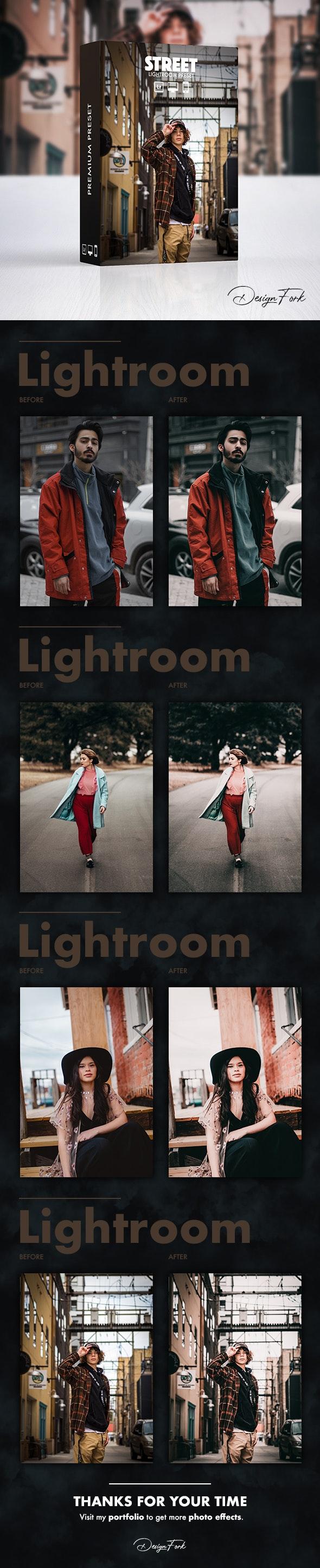 Street Lightroom Preset - Cinematic Lightroom Presets