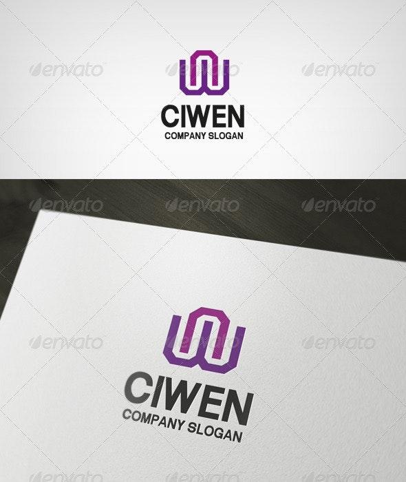 ciwen Logo - Letters Logo Templates