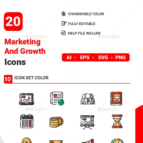 Marketing And Growth Icon