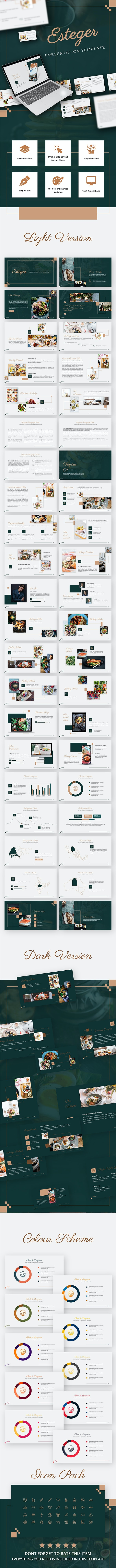 Esteger Delight Presentation Template - PowerPoint Templates Presentation Templates