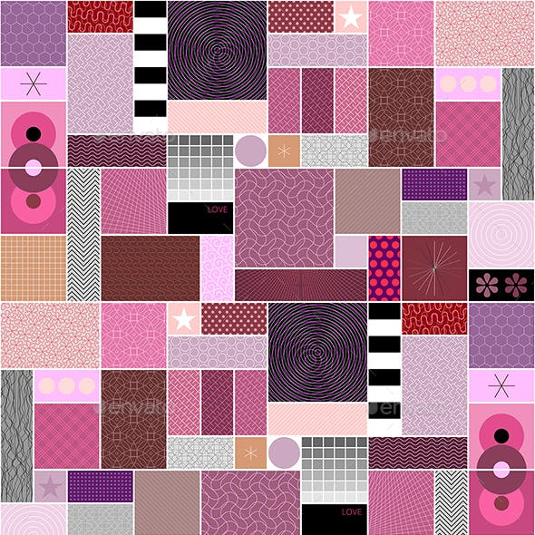 Abstract Patterns Seamless Design