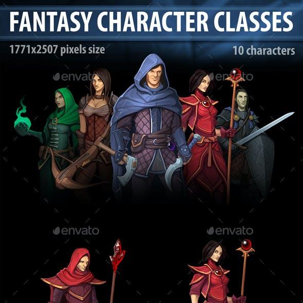 Fantasy Character Classes