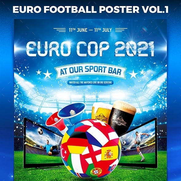 Euro 2021 Poster vol.1