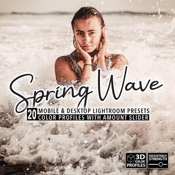 20 Spring Wave Lightroom Presets
