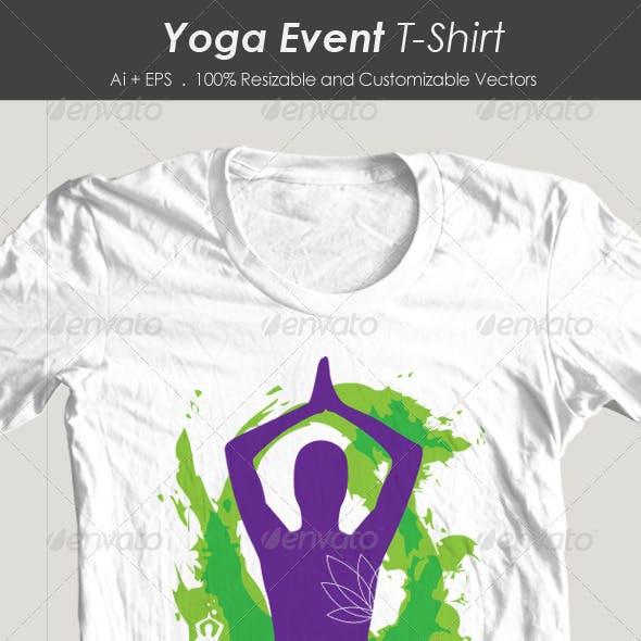 Yoga Event Tshirt