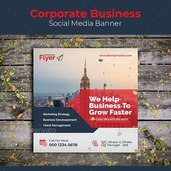 Corporate Business Social Media Banner