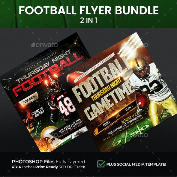Football Flyer Bundle 2 in 1