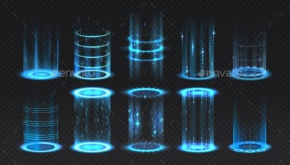 Realistic Portal - Technology Conceptual