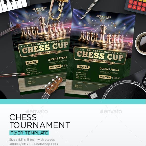 Chess Tournament Flyer
