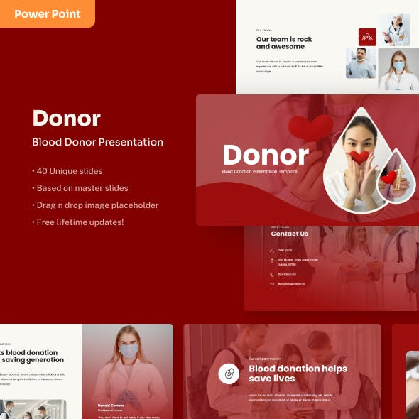 Donor - Volunteer PowerPoint Presentation