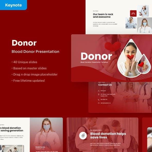 Donor - Volunteer Keynote Presentation