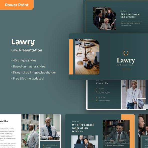 Lawry - Law PowerPoint Presentation
