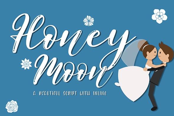 Honeymoon - Hand-writing Script