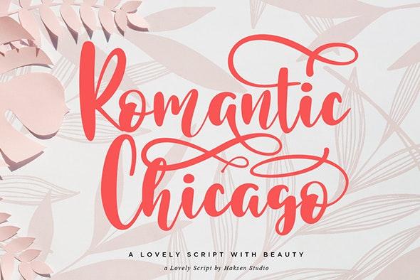 Romantic Chicago - Hand-writing Script