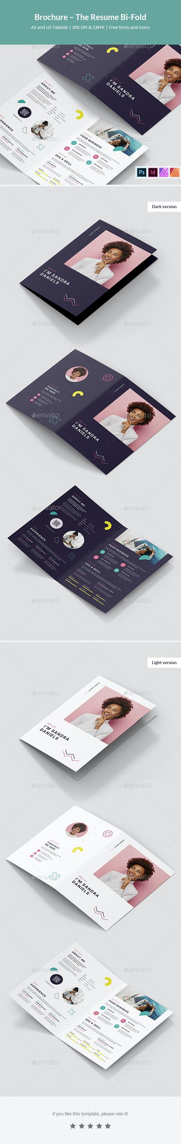 Brochure – The Resume Bi-Fold - Resumes Stationery