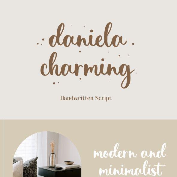 Daniela Charming - Sweet Calligraphy