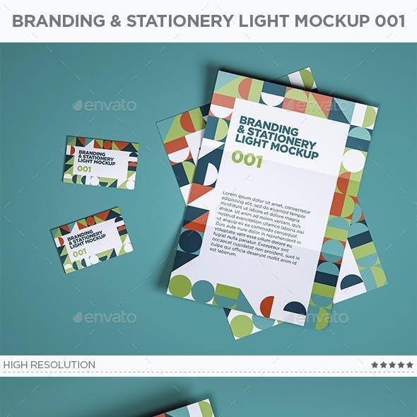 Branding & Stationery Light Mockup 001