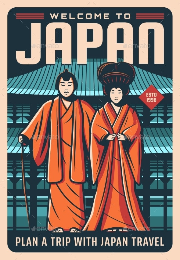 Welcome to Japan Travel Landmarks and Culture - Travel Conceptual