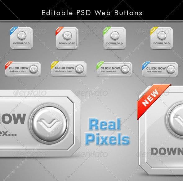 Buttons Web - Buttons Web Elements