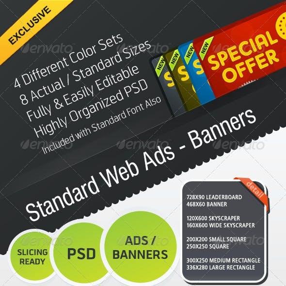 Standard Web Ads - Banners