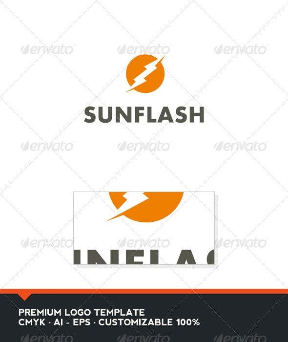 Sun Flash Logo Template - Nature Logo Templates