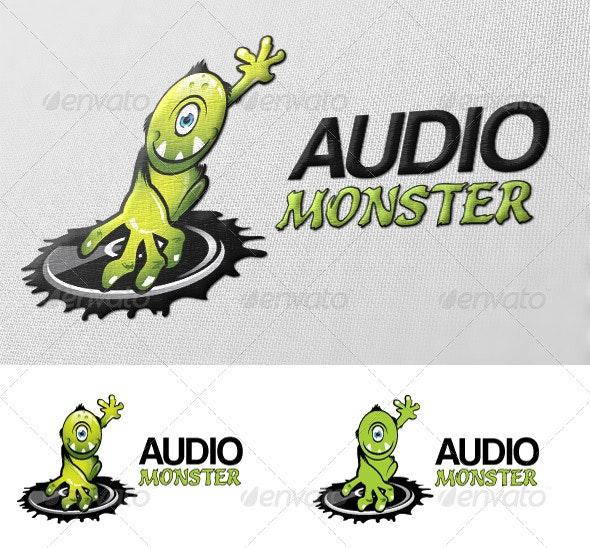 Audio Monster Logo - Animals Logo Templates