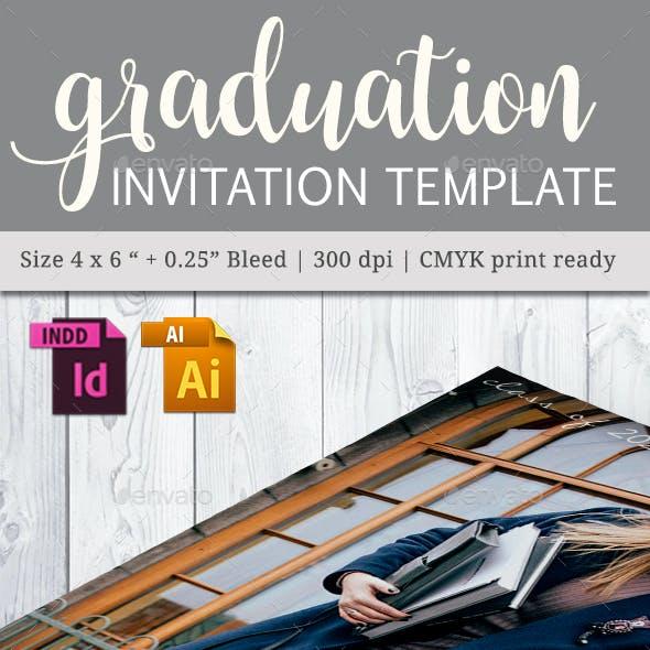 Graduation Invitation Template - Vol. 02