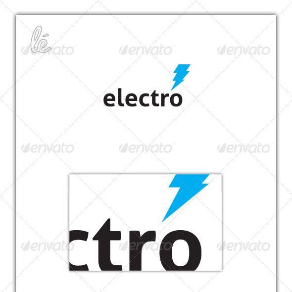 Electro Logo - Electrician Logo - Energy Logo