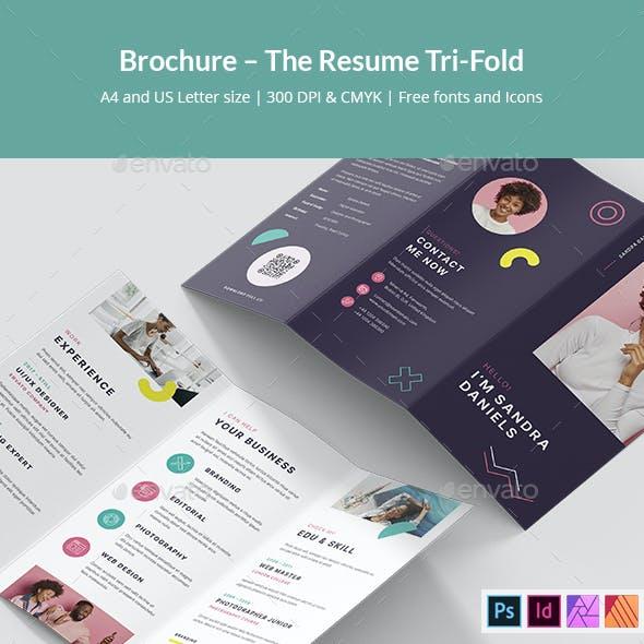 Brochure – The Resume Tri-Fold