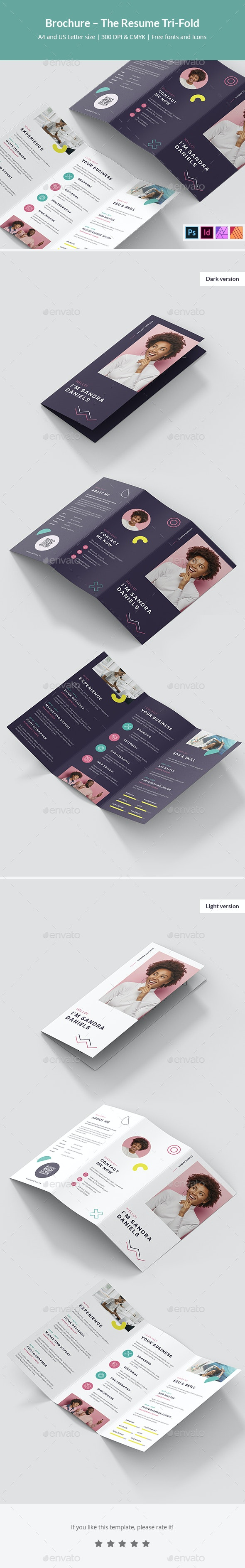 Brochure – The Resume Tri-Fold - Resumes Stationery