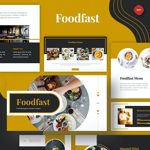 Foodfast - Food & Drinks Powerpoint