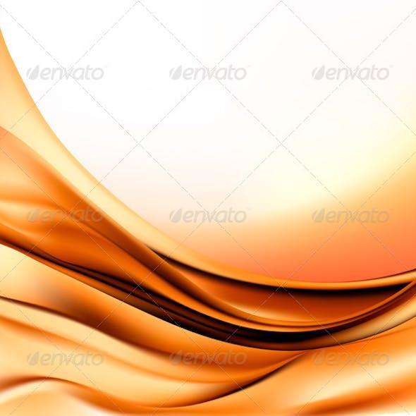 Elegant gold abstract background  Vector illustrat