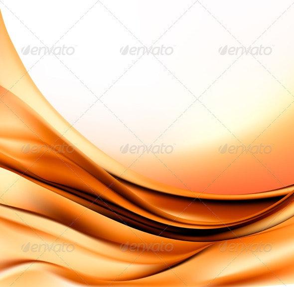 Elegant gold abstract background  Vector illustrat - Backgrounds Decorative