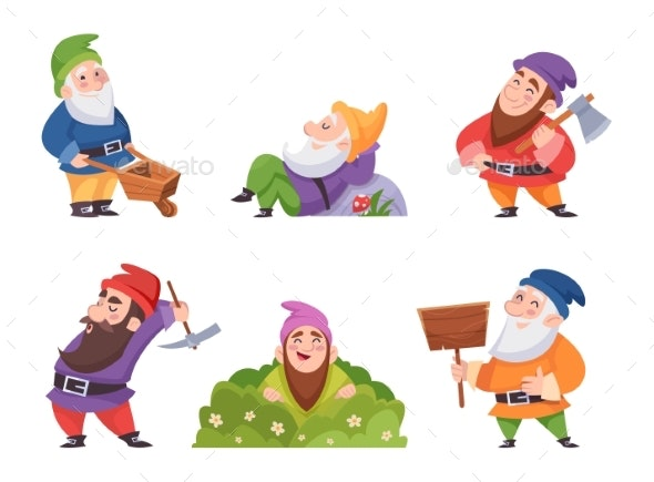 Garden Gnome - People Characters