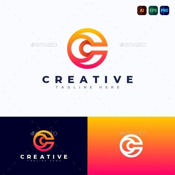 C Logo - Creative Letter Logo