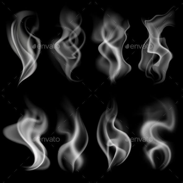 White Realistic Smoke