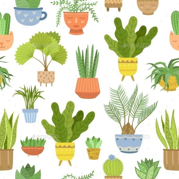 House Plant Pattern