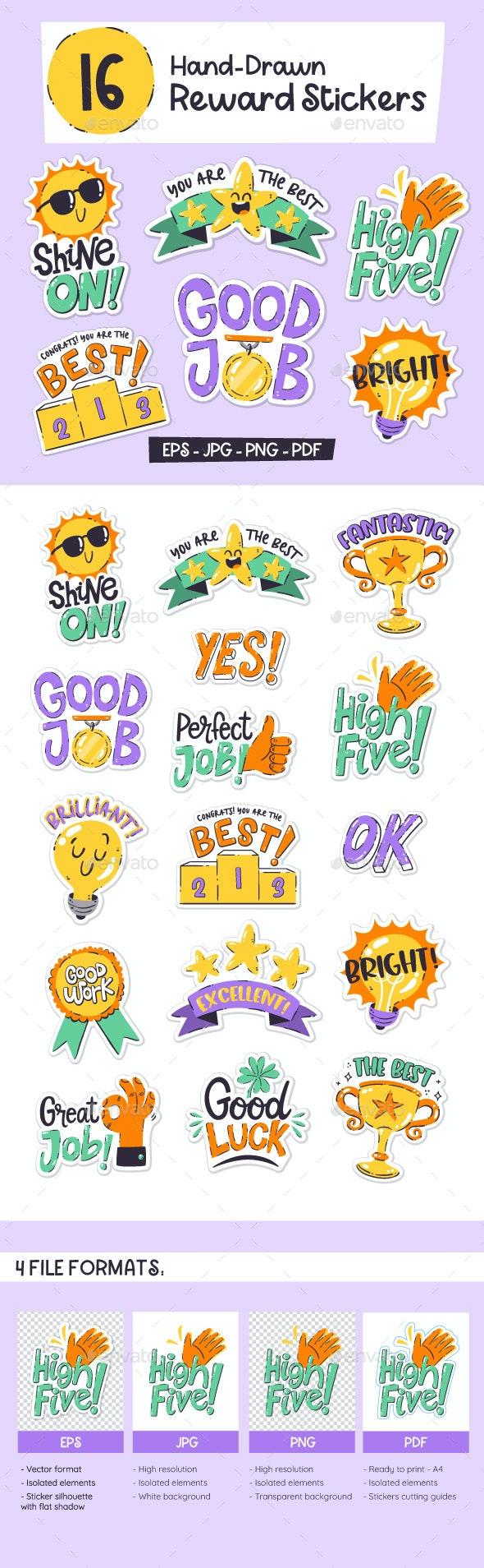 Reward Sticker Collection - Sports/Activity Conceptual