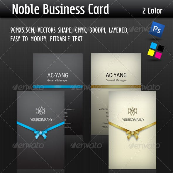 Noble Business Card