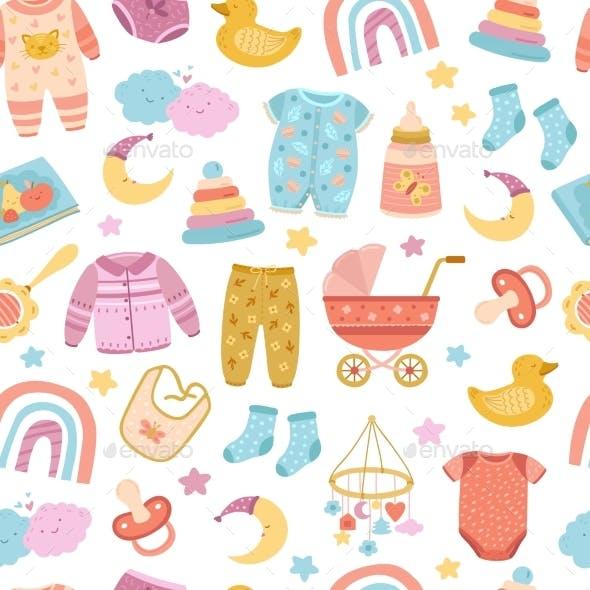 Nursery Seamless Pattern