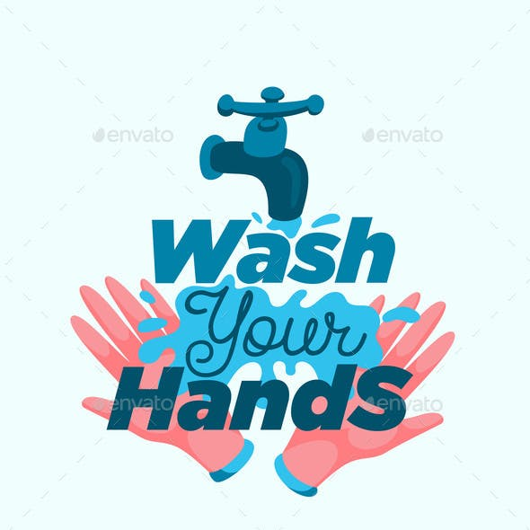Personal Hygiene Vector Poster